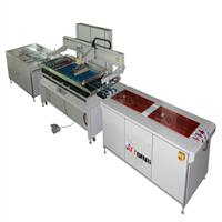 全自動-彩晶玻璃絲印機