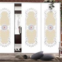 艺术玻璃超白软包衣柜门推拉门