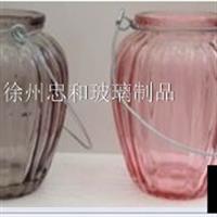 竖条玻璃罐 工艺品玻璃