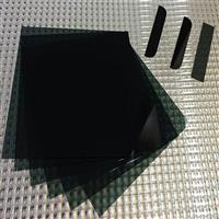 处理高仿康宁0.9mm黑色玻璃