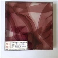 湿法夹胶玻璃立体丝布夹胶玻璃js-006