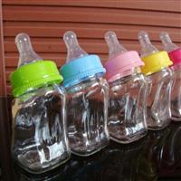 新款新生婴幼儿弯头奶瓶80ml