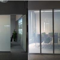 智能调光玻璃办公室隔断玻璃