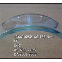 供應12mm彎鋼化玻璃