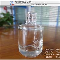 高档透明指甲油瓶