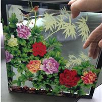 艺术玻璃门UV平板打印机厂家