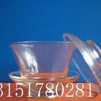 功夫茶具玻璃盖碗三炮台三才盖碗