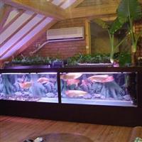 龙鱼缸定做广州哪里定做龙鱼鱼缸