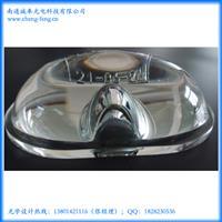 厂家供应高透大功率路灯玻璃透镜