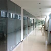供应中空百叶玻璃门窗(双系统带塑钢外框型)