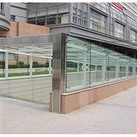 大连玻璃雨棚钢结构玻璃雨棚价格
