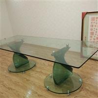 疊層藝術玻璃桌