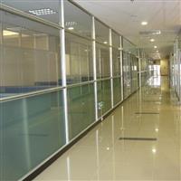 供应办公隔断铝型材 玻璃隔断