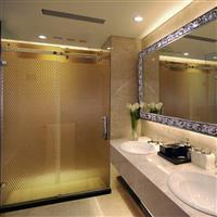 酒店用高档浴室玻璃隔断供应厂家