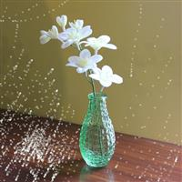 喷色玻璃花瓶玻璃瓶销售