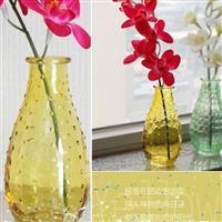 小口玻璃瓶插花瓶创意花瓶