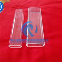 石英玻璃定制 方管 椭圆形管