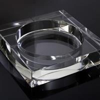 水晶直方烟缸