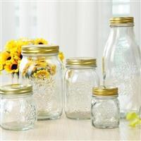 玻璃瓶密封罐储物罐杂粮密封罐