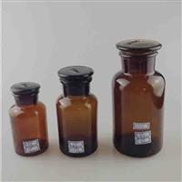 棕色试剂瓶磨口瓶玻璃瓶