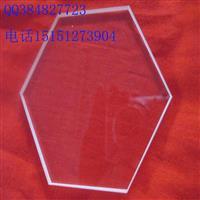 隔热高透光透明石英玻璃片