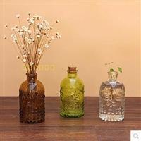 玻璃瓶喷色花瓶