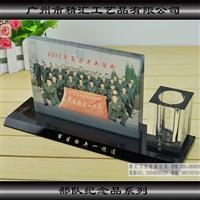 战友聚会纪念品定制,水晶相框