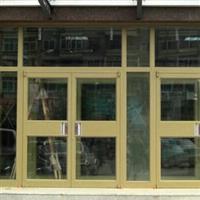 北京安装肯德基门安装案例