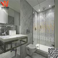供應沐浴房彩釉玻璃