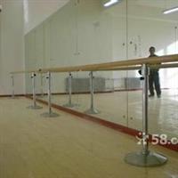六铺炕安装舞蹈镜子定做把杆价格
