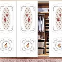 平板打印超白彩绘衣柜门玻璃