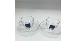 大连采购-玻璃咖啡杯碟