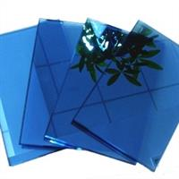 供應4-10毫米寶石藍玻璃及寶石藍鍍膜玻璃