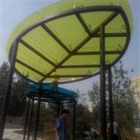 北京供应优质异形彩色艺术阳光棚玻璃定制