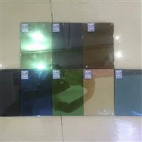 low-e 中空镀膜钢化玻璃