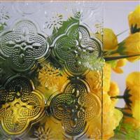 厂家直销压花玻璃 玻璃深加工 钢化压延玻璃