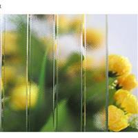 直销 优质透明压花压延玻璃