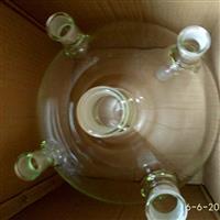 上海璐晶玻璃五口烧瓶