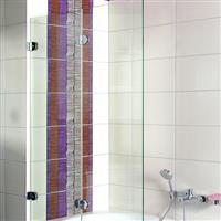 自洁卫浴玻璃屏风