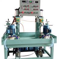 快速高效双工位磨圆机 小圆玻璃磨边机