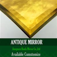 金黄仿古镜餐厅酒店镜子系列