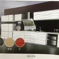 厂家供应橱柜门板烤漆玻璃