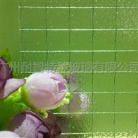 高透夾鐵線玻璃方格金屬夾絲玻璃