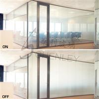 广州�隼�玻璃厂家 智能调光玻璃
