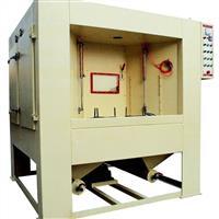 合肥开孔器专用自动转台式喷砂机