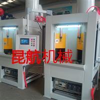 武汉铣刀转台式自动喷砂机