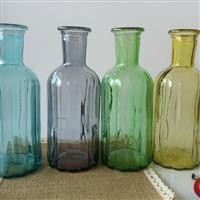 玻璃瓶喷色玻璃花瓶工艺品瓶