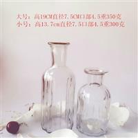 玻璃瓶工艺品瓶插花瓶装潢瓶