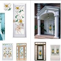 供應各種圖案鑲嵌玻璃