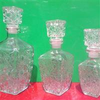 醒酒器高档钻石玻璃酒瓶